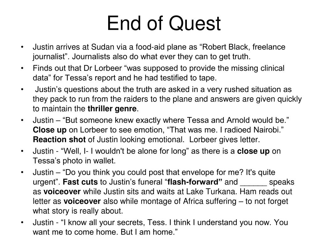 End of Quest