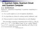 3 quantum gates quantum circuit and quantum computer