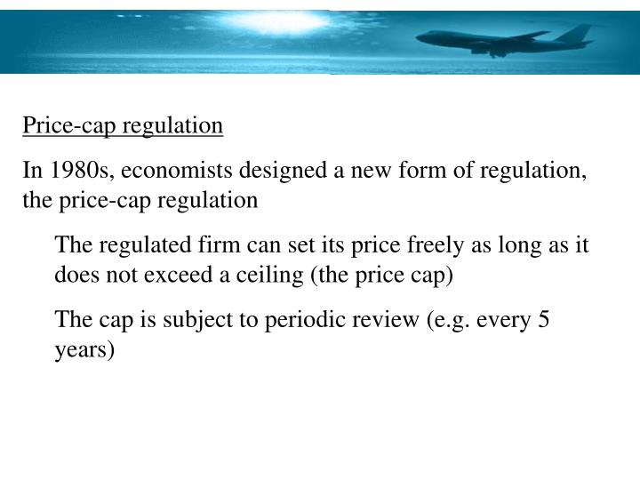 Price-cap regulation