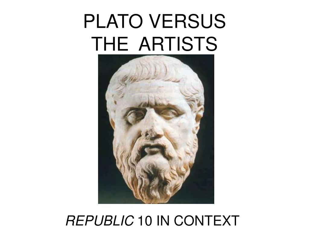 plato versus the artists l.