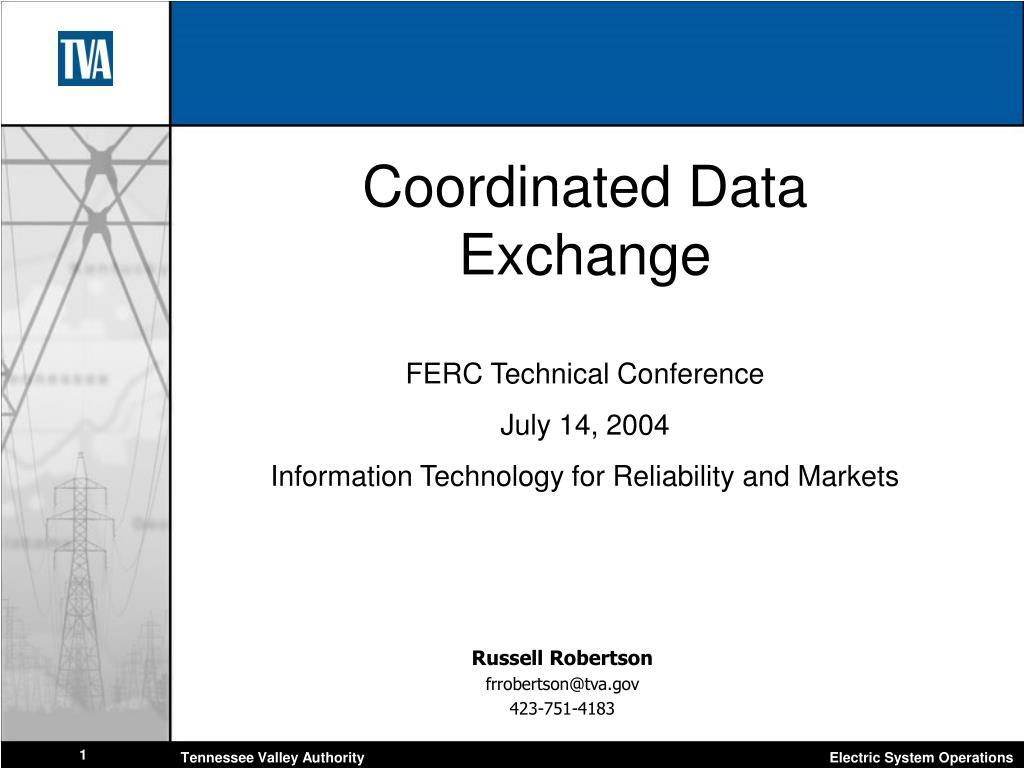Coordinated Data Exchange