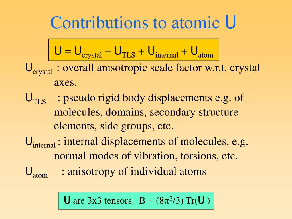 Contributions to atomic