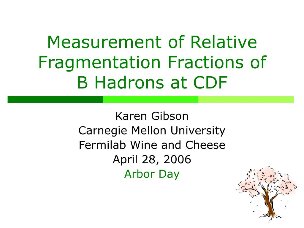 measurement of relative fragmentation fractions of b hadrons at cdf l.