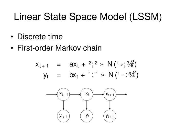 Linear State Space Model (LSSM)