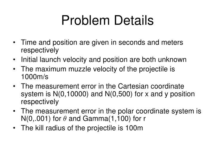 Problem Details