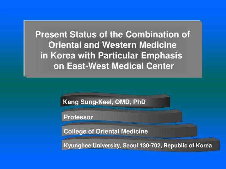 Present Status of the Combination of