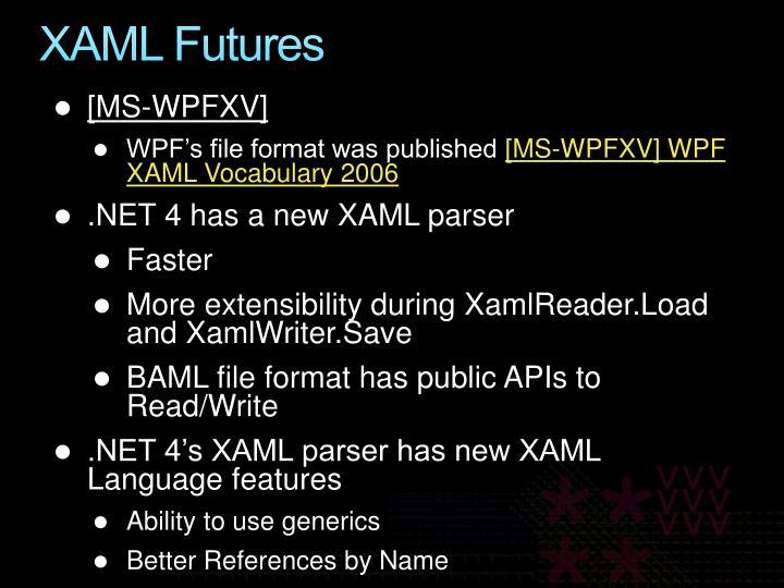 XAML Futures