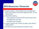 epa resources personnel