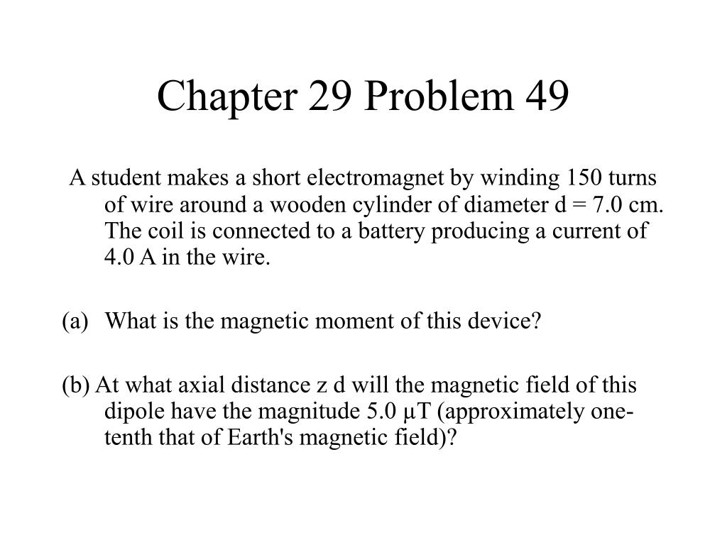 Chapter 29 Problem 49