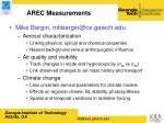 arec measurements13