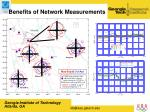 benefits of network measurements
