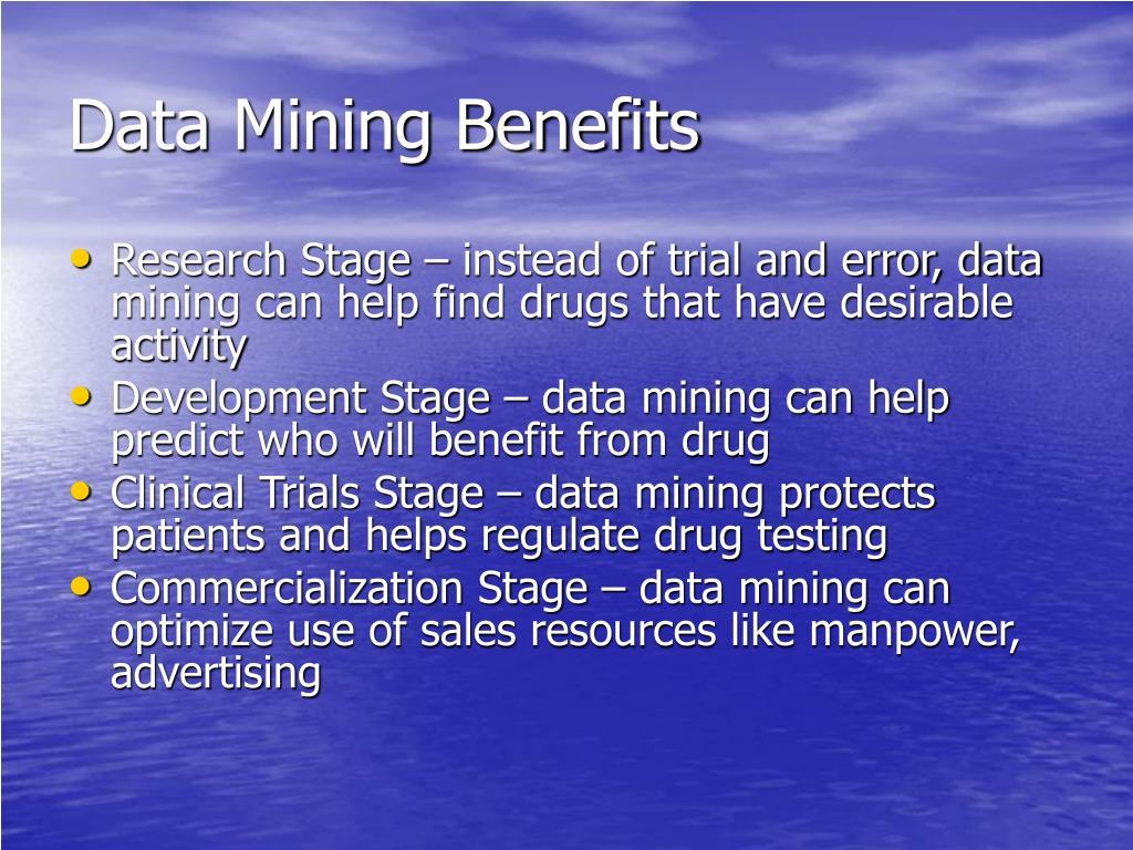 Data Mining Benefits
