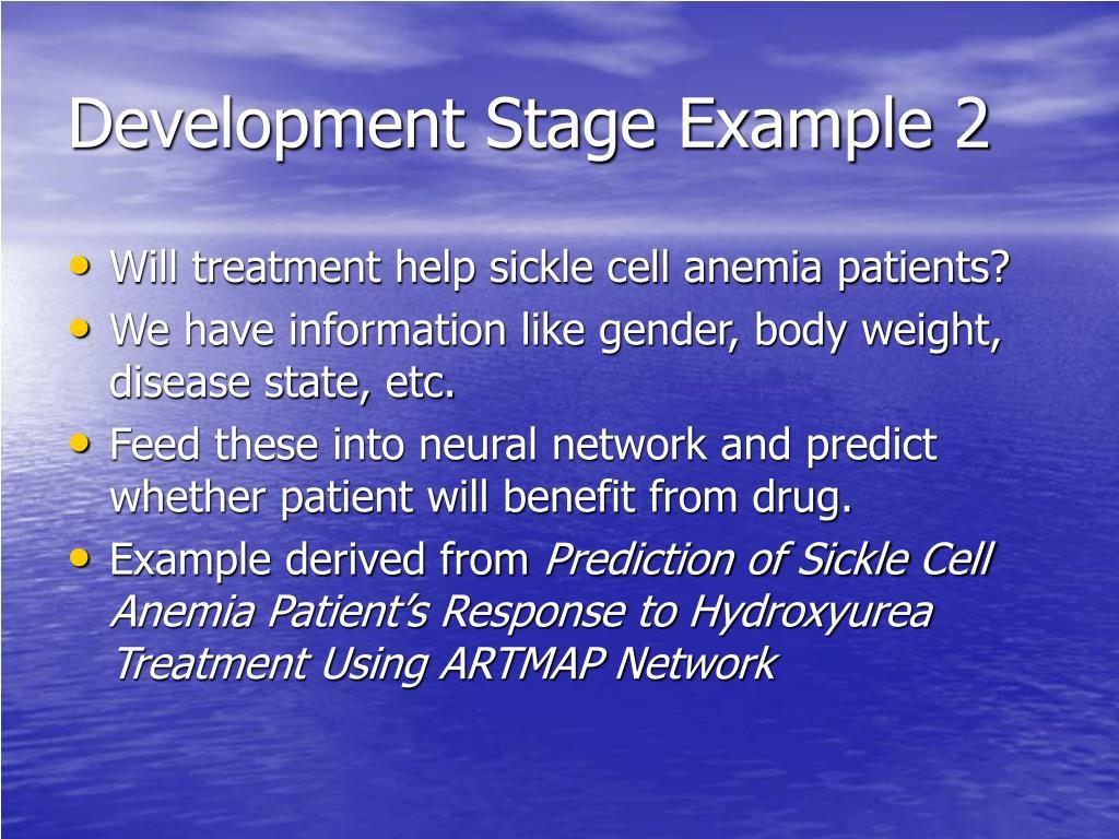Development Stage Example 2