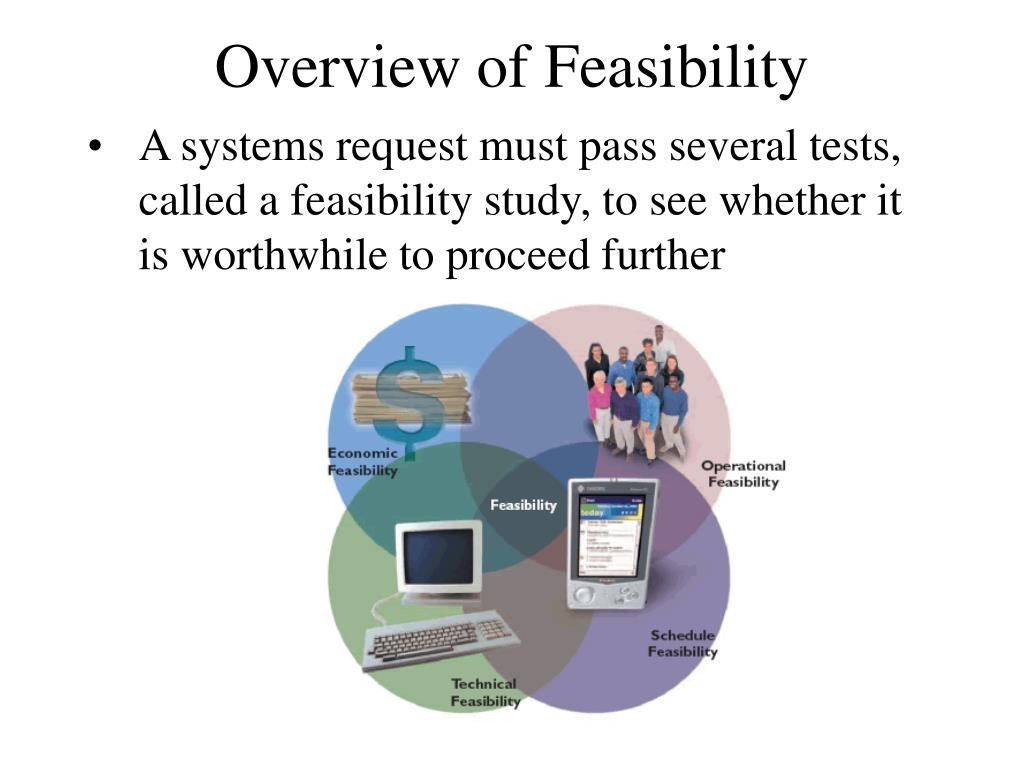 A systems request must pass several tests, called a feasibility study, to see whether it is worthwhile to proceed further