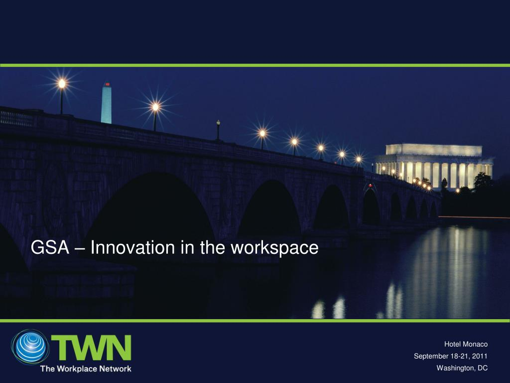 gsa innovation in the workspace