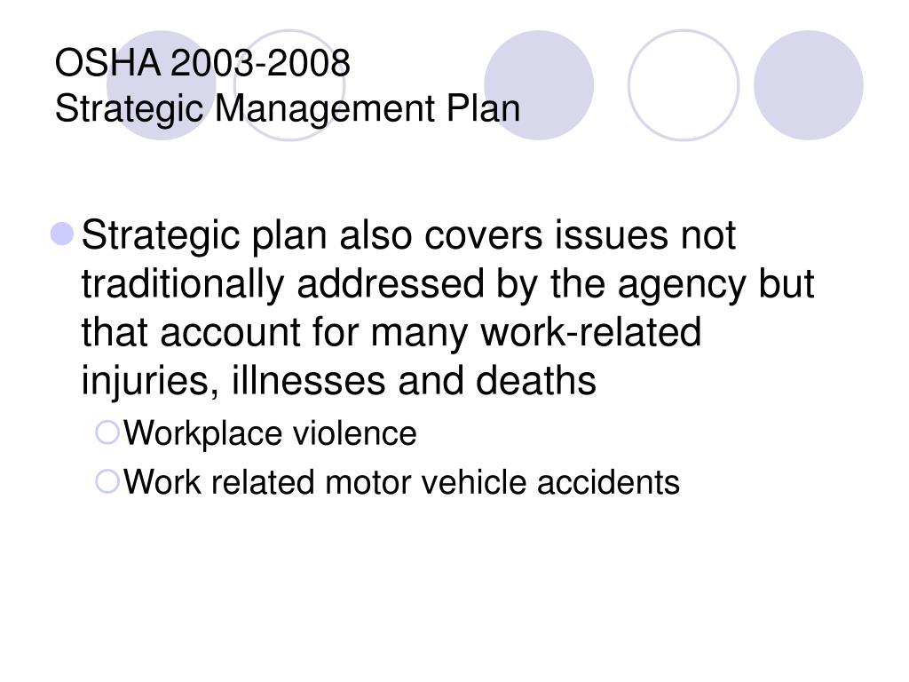OSHA 2003-2008