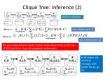 clique tree inference 2
