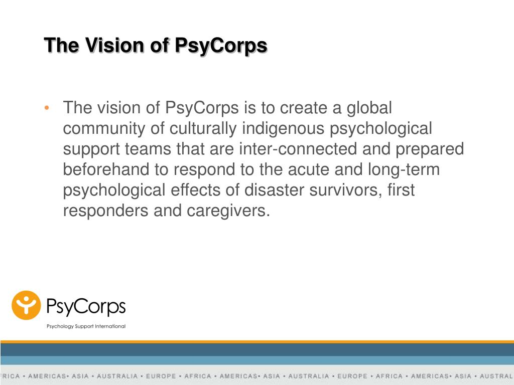 The Vision of PsyCorps