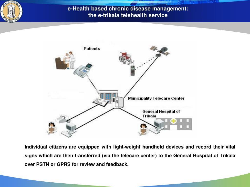 e-Health based chronic disease management: