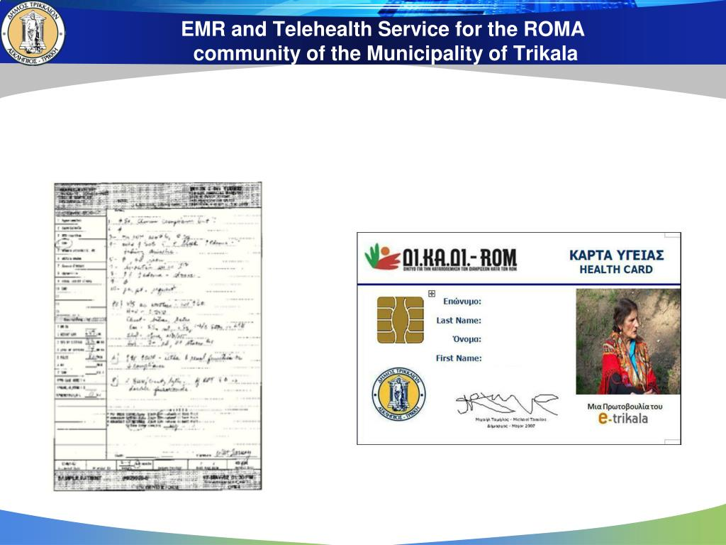 EMR and Telehealth Service for the ROMA