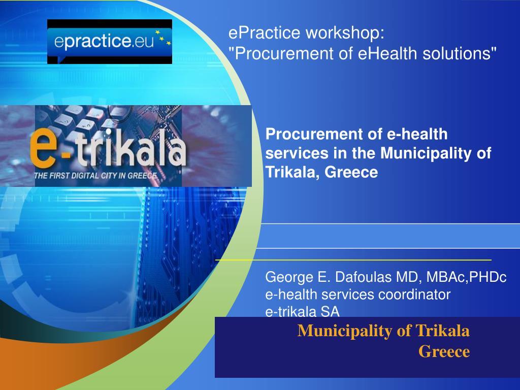 ePractice workshop:
