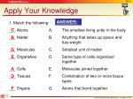 apply your knowledge13