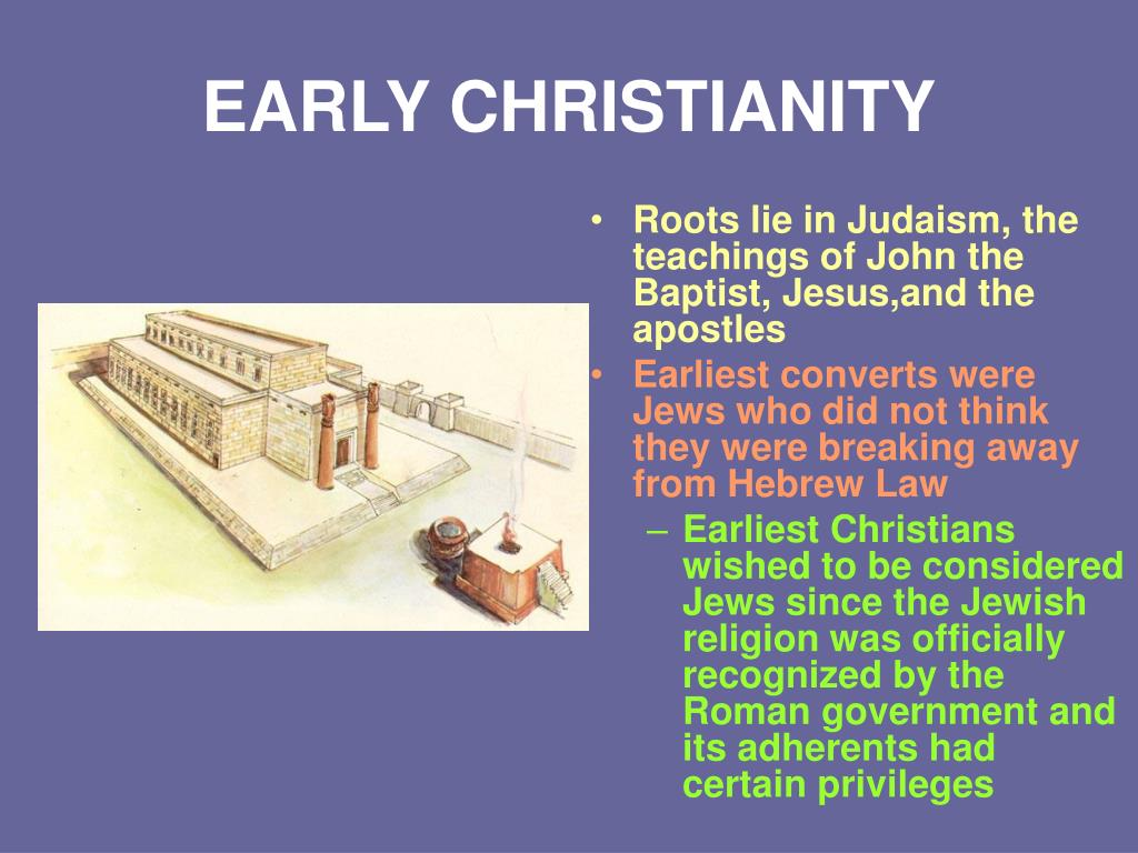 early christianity l.