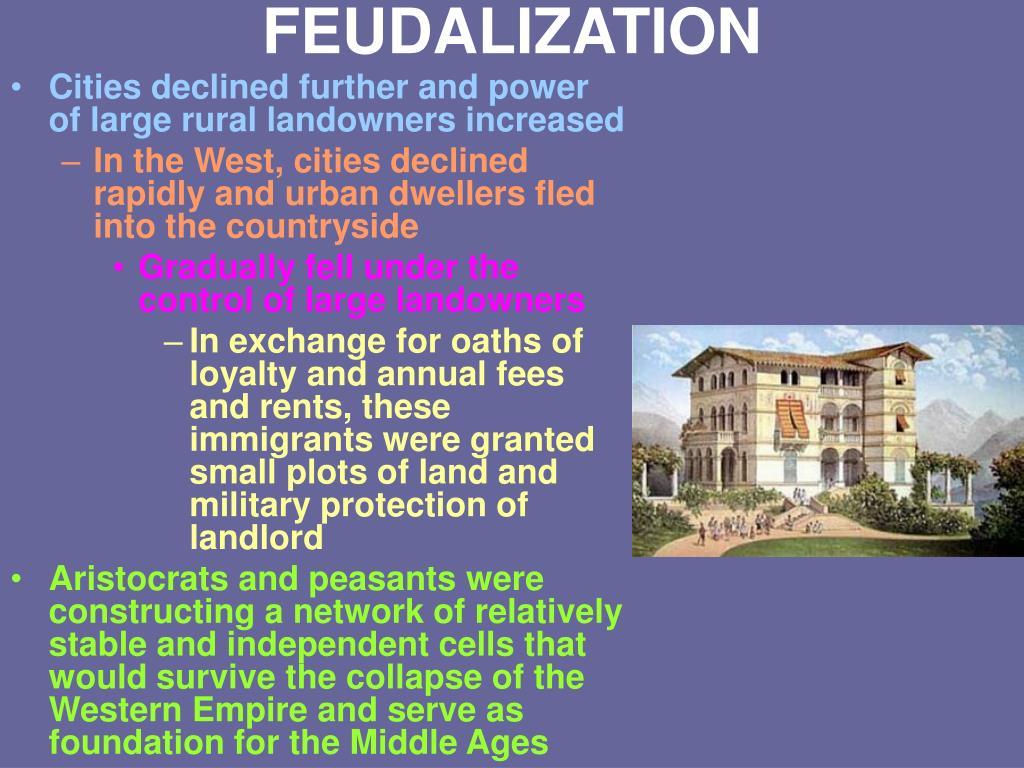 FEUDALIZATION
