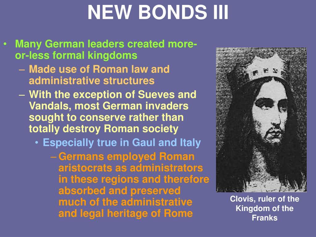 NEW BONDS III