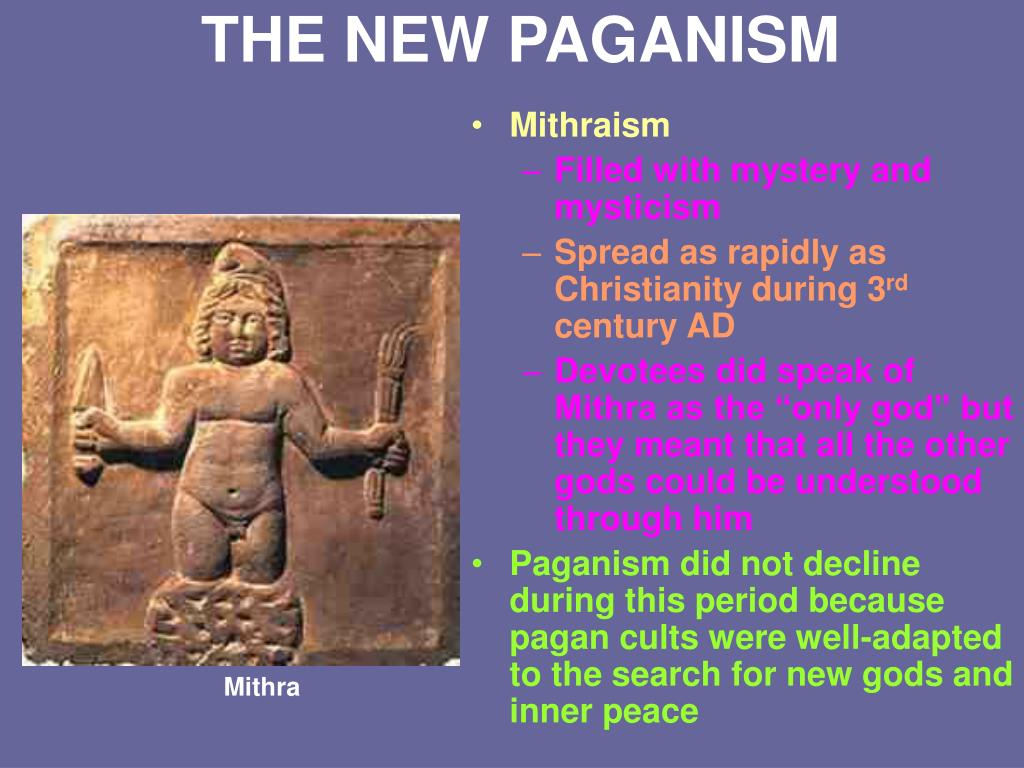 THE NEW PAGANISM
