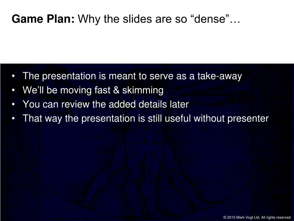 Game Plan: