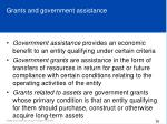 grants and government assistance