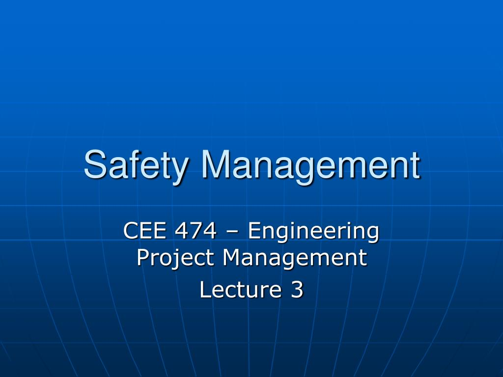 safety management l.