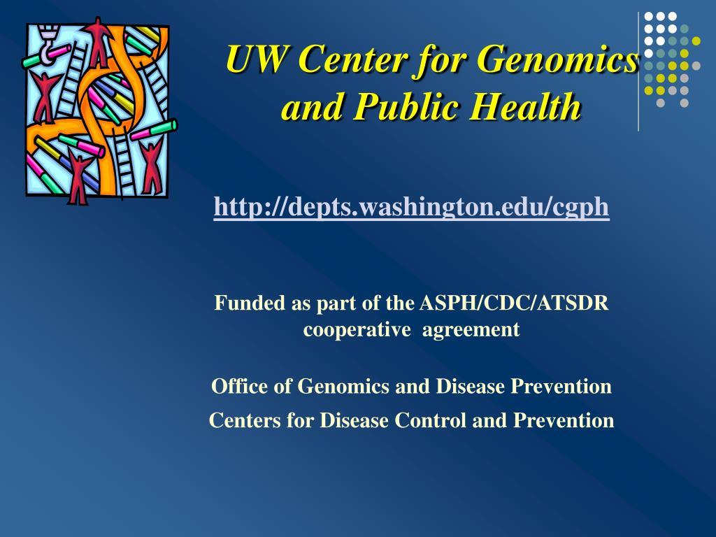 UW Center for Genomics