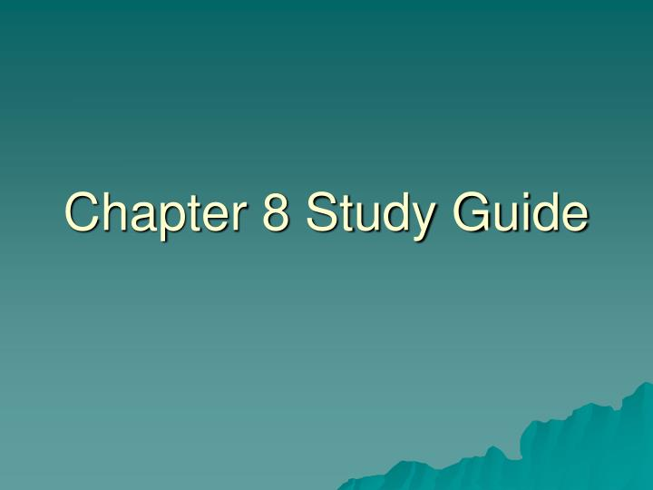 acess study guide chapter 8 essay Night study guide contains a biography of elie wiesel, literature essays, quiz questions, major themes, characters, and a full summary and analysis night essays are academic essays for citation these papers were written primarily by students and provide critical analysis of night by elie wiesel.
