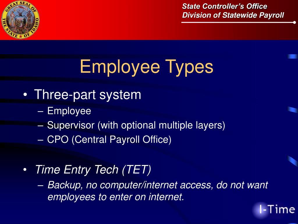 Employee Types