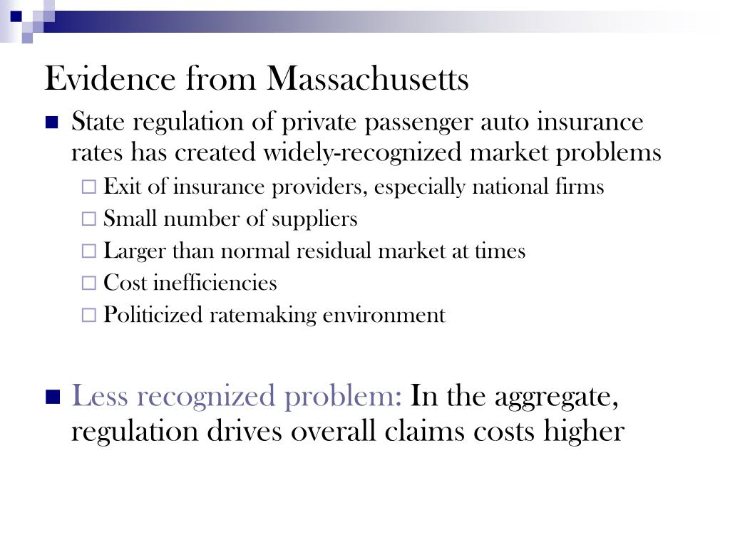 Evidence from Massachusetts