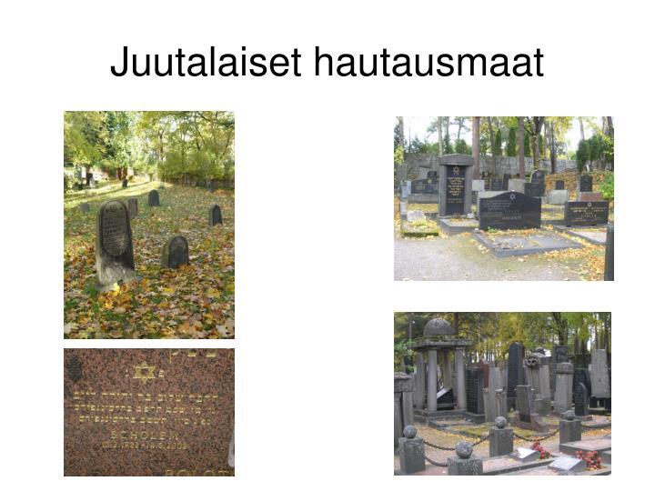 Juutalaiset hautausmaat