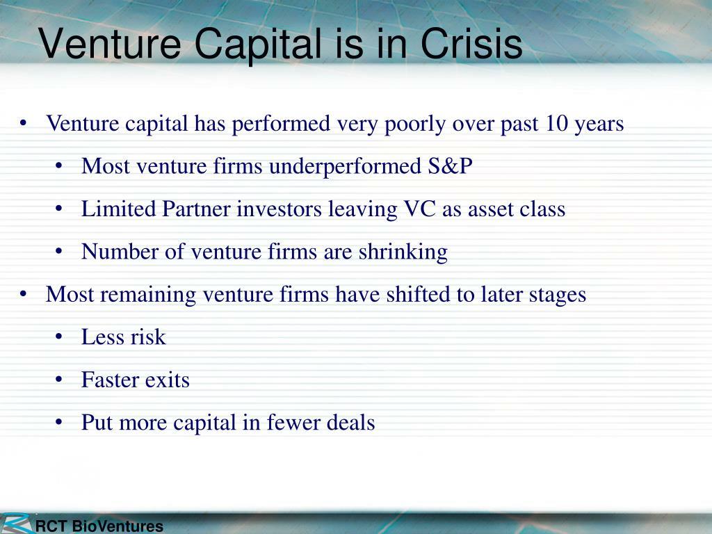 Venture Capital is in Crisis