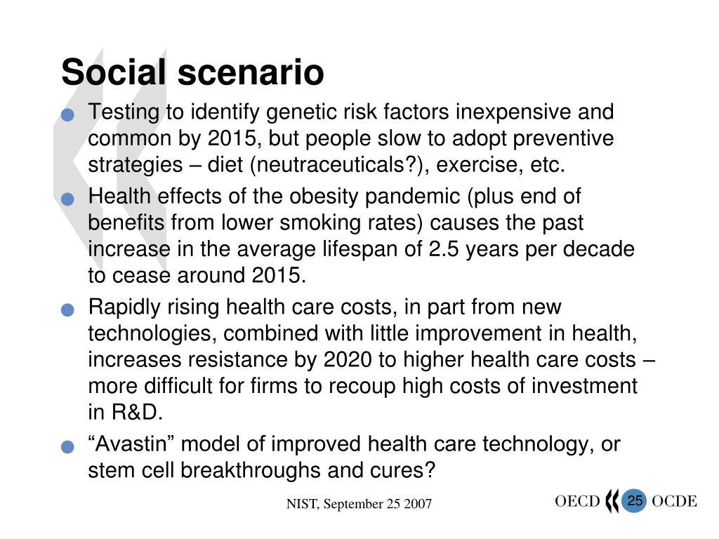 Social scenario