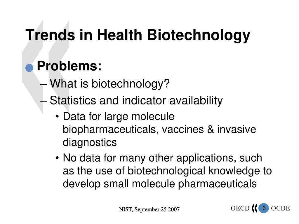 Trends in Health Biotechnology