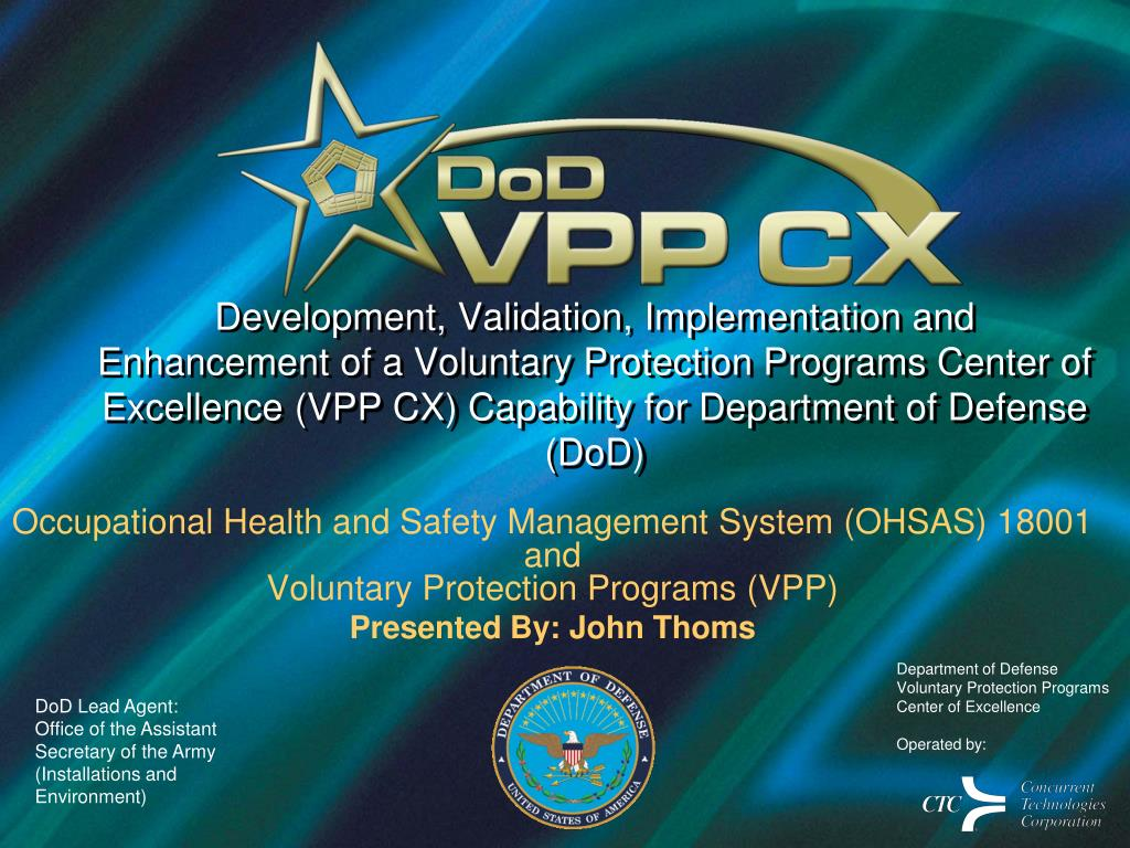 PPT - Occupational Health and Safety Management System ...