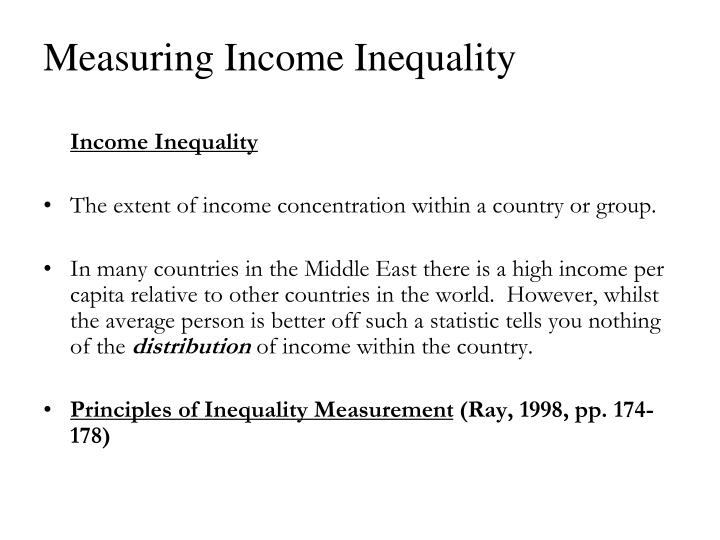 Measuring income inequality2