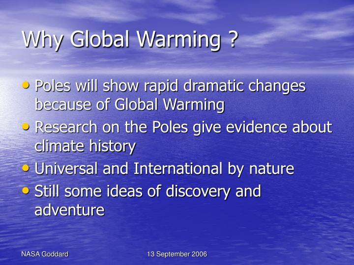 Why global warming