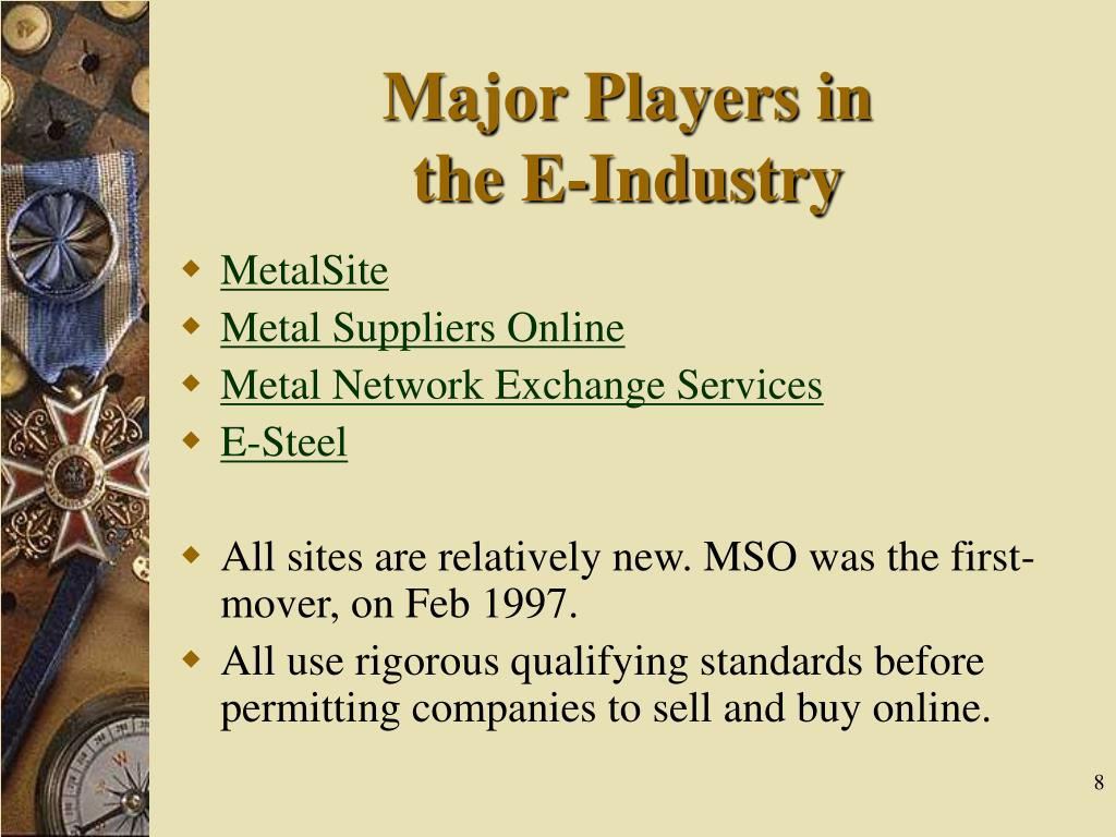 Major Players in