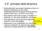 il 3 o principio della dinamica24