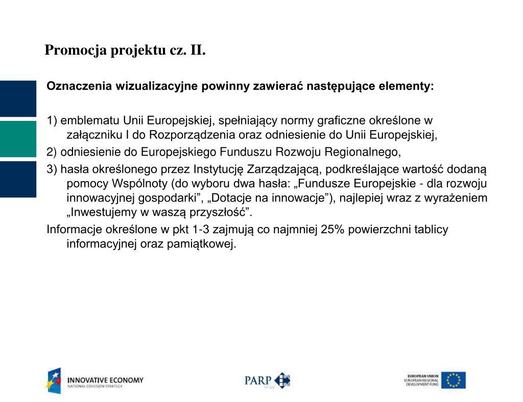 Promocja projektu cz. II.