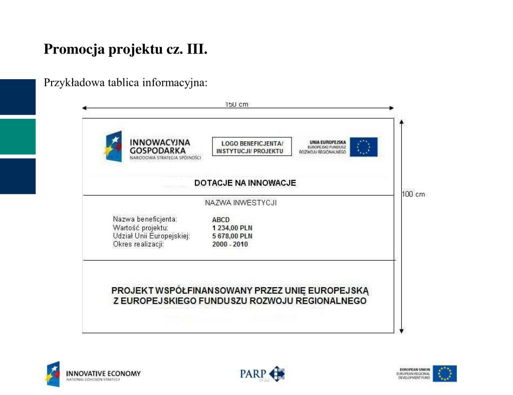 Promocja projektu cz. III.