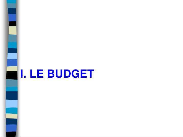 I le budget