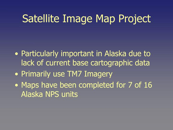 Satellite image map project3